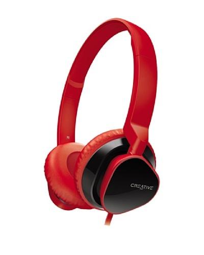 Creative Hitz MA2300 – Auriculares de diadema cerrados, color rojo