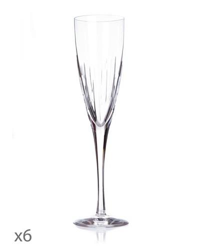 Cristal De Sèvres Caja De Seis Copas Lune D'Eau