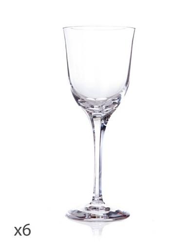 Cristal De Sèvres Caja De Seis Copas De Vino Blanco Aria