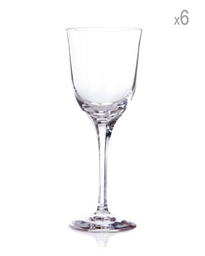 Cristal de Sèvres Caja de 6 Copas de Vino Blanco Aria