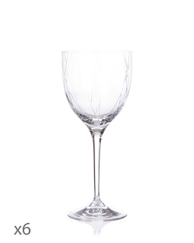 Cristal De Sèvres Caja De Seis Copas De Vino Blanco Chamsai