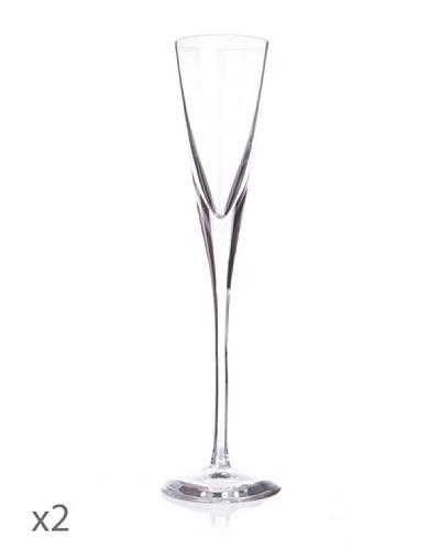 Cristal De Sèvres Set Dos Copas Champagne Swing