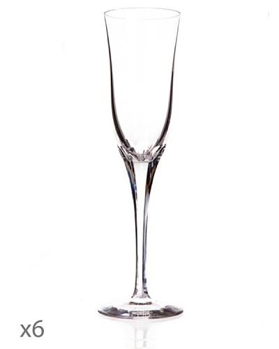 Cristal De Sèvres Caja De Seis Copas Champagne Aria