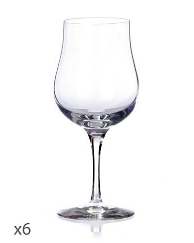 Cristal De Sèvres Caja De Seis Copas De Vino Tinto Cepages D