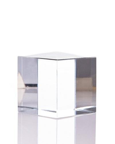 Cristal De Sèvres Cubo Pequeño Decorativo