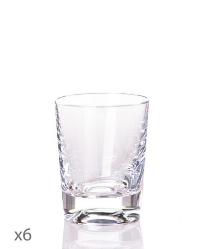 Cristal De Sèvres Caja De Seis Vasos Licor Villers