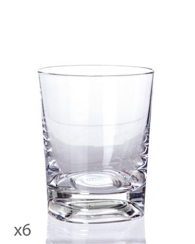 Cristal De Sèvres Caja De Seis Vasos Oporto Villers