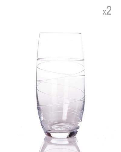 Cristal de Sèvres Caja 2 Vasos Altos Bruyere