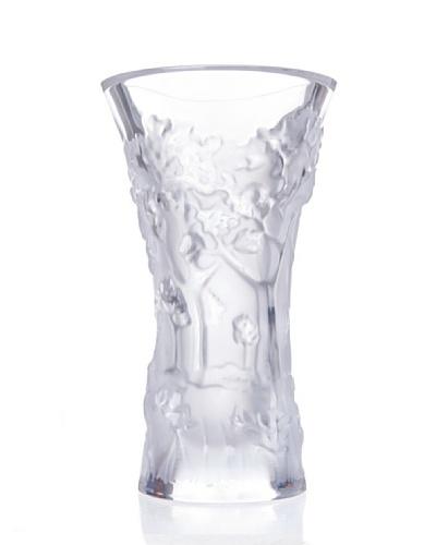Cristal De Sèvres Florero Fontaine Bleu