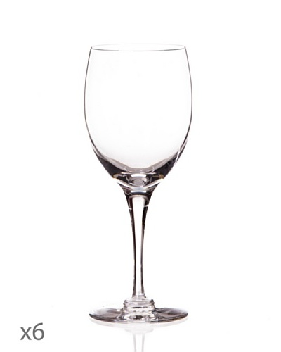 Cristal De Sèvres Caja De Seis Copas De Vino Blanco Beaujolais