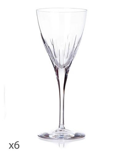 Cristal De Sèvres Caja De Seis Copas De Vino Rosado Lune D'Eau