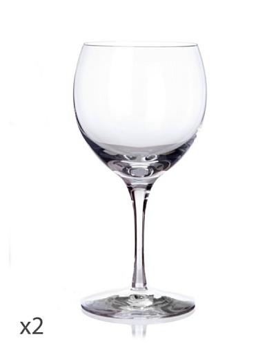 Cristal De Sèvres Set Dos Copas De Vino Blanco Cepages G