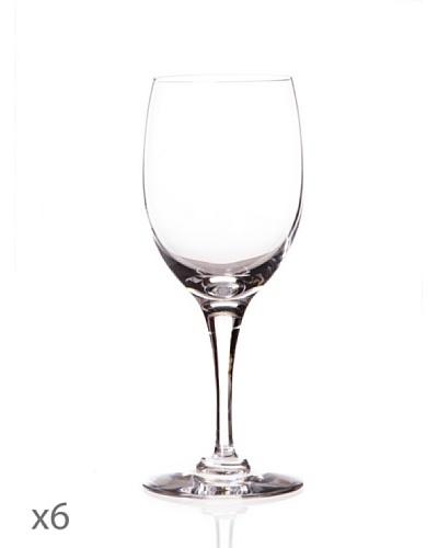 Cristal De Sèvres Caja De Seis Copas De Vino Rosado Beaujolais