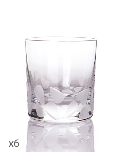 Cristal De Sèvres Caja De Seis Vasos Oporto Frost