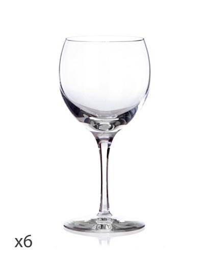 Cristal De Sèvres Caja De Seis Copas De Vino Tinto Cepages G