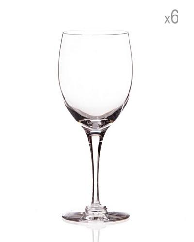 Cristal de Sèvres Caja de 6 Copas de Vino Blanco Beaujolais