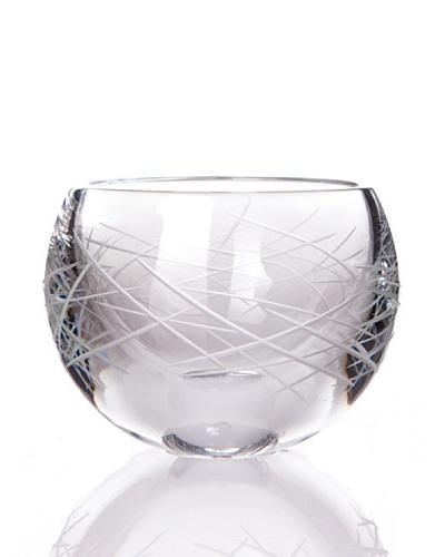 Cristal De Sèvres Candelero Feu Elements