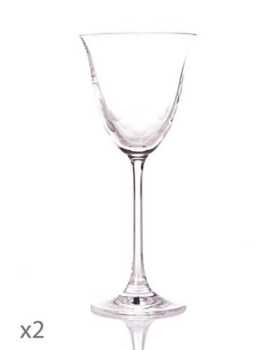 Cristal De Sèvres Toujours Caja De Dos Copas De Vino Rosado Mariette
