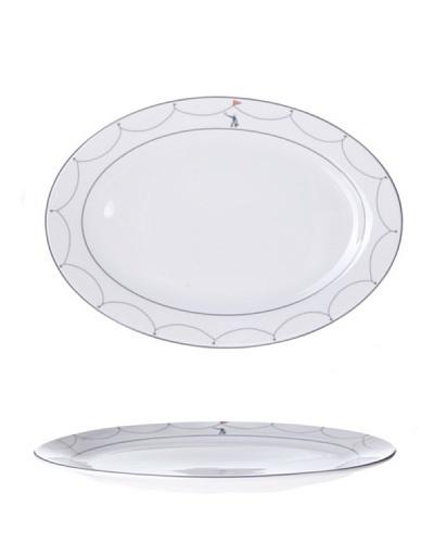 Cristal De Sèvres Toujours Fuente Oval Cirque