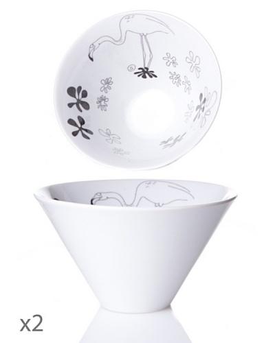 Cristal De Sèvres Toujours Caja 2 Bols Animaux