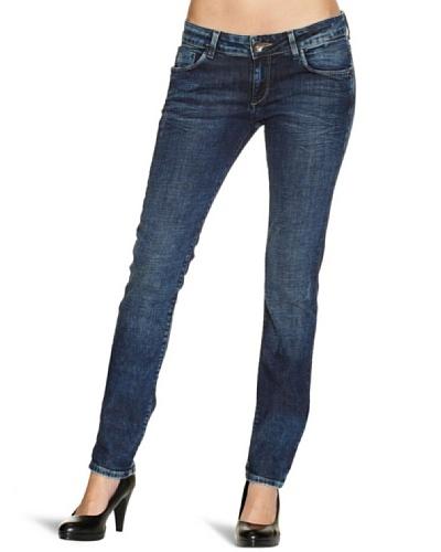 Cross Jeans Pantalón Vaquero Melissa Skinny Fit Regular Rise Azul