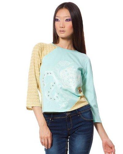 Custo Camiseta Pao Multicolor