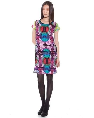 Custo Vestido Multicolor