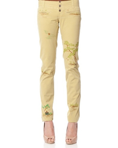 Custo Pantalón Coshy Camel