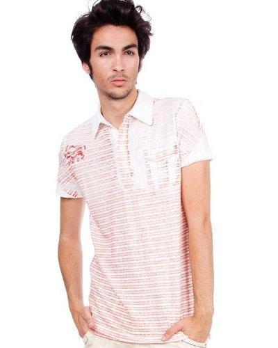 Custo Polo Blanco / Rojo