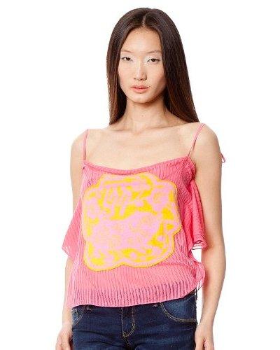 Custo Camiseta Rosa / Amarillo