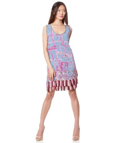Custo Vestido Kumiko Azul / Malva