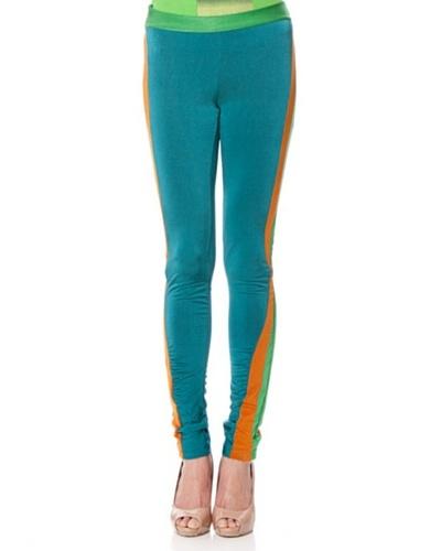 Custo Legging Megumi Azulón / Naranja