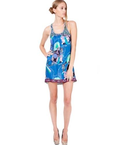 Custo Vestido Sveta Azul