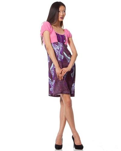 Custo Vestido Rosa / Violeta
