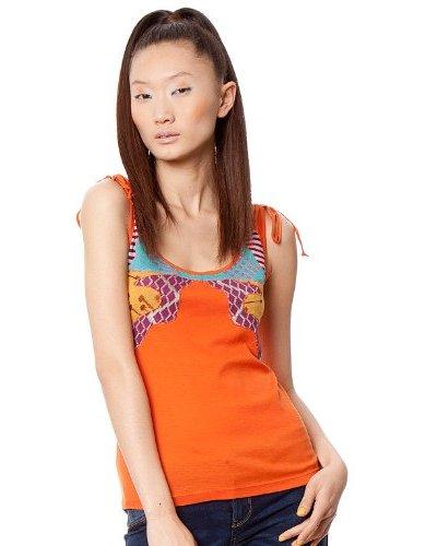 Custo Camiseta Naranja