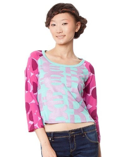 Custo Camiseta Busha Multicolor