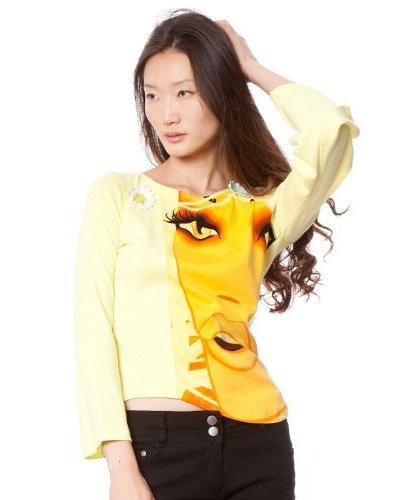 Custo Camiseta X Trees Amarillo