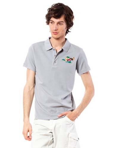 Custo Polo Grey T Gris