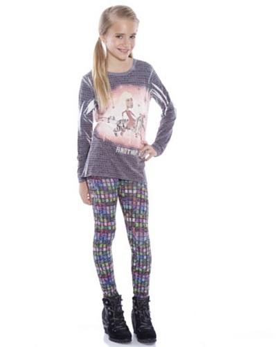 Custo Camiseta Rond Tiger Multicolor
