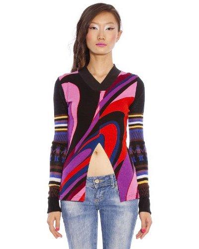 Custo Camiseta Printed Multicolor