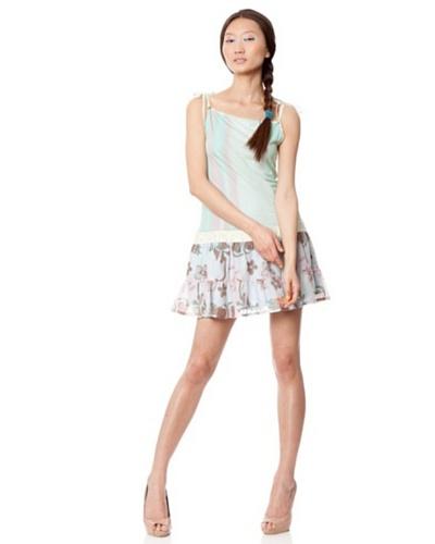Custo Vestido Lu Tye Dye Azul