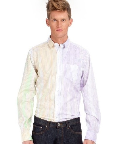 Custo Camisa Multicolor