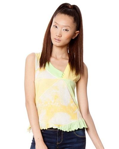 Custo Camiseta Amarillo / Verde