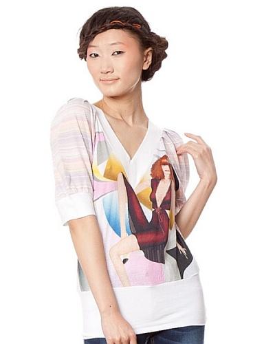 Custo Camiseta Multicolor