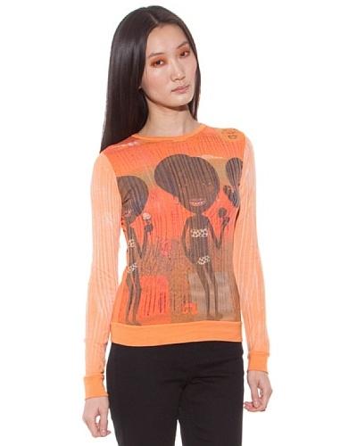 Custo Jersey Roxxe Naranja