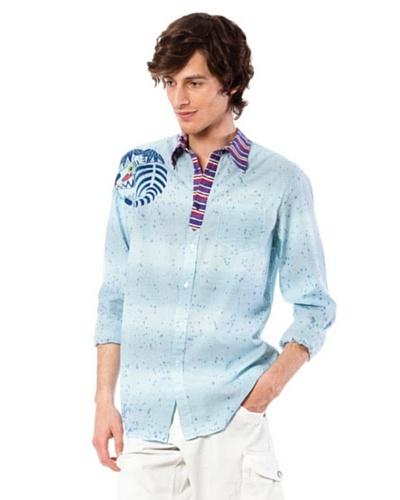 Custo Camisa Tor Up Multicolor