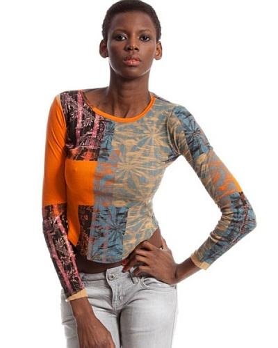 Custo Camiseta Focus Naranja