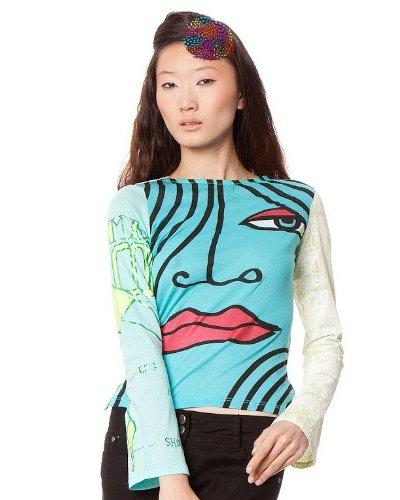 Custo Camiseta Yemin Multicolor