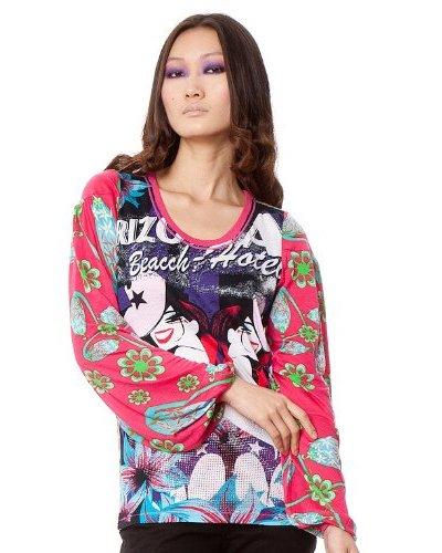 Custo Camiseta Sweet Multicolor