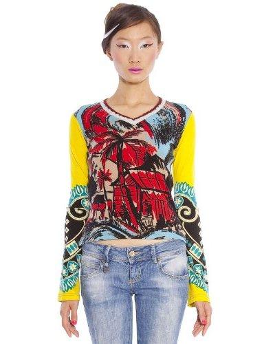 Custo Camiseta Art N Multicolor